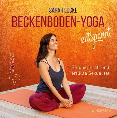 Cover Buch Beckenboden-Yoga entsoannt